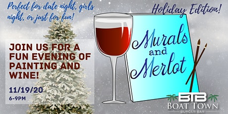 Murals & Merlot at BTBB- December tickets