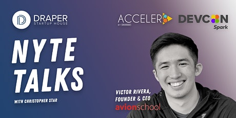 NYTE TALKS with Victor Rivera of Avion School tickets