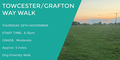 TOWCESTER GRAFTON WAY TRAIL | 5 MILES | MODERATE | NORTHANTS tickets