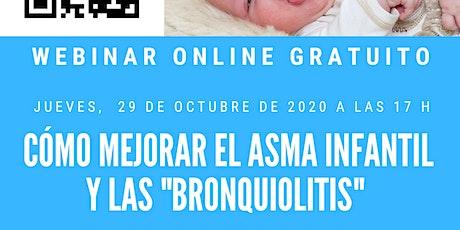 """Mejorar el asma infantil y las """"bronquiolitis"""" entradas"""
