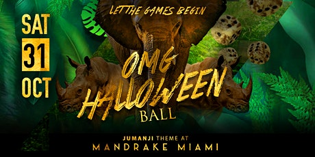 OMG Halloween Ball tickets