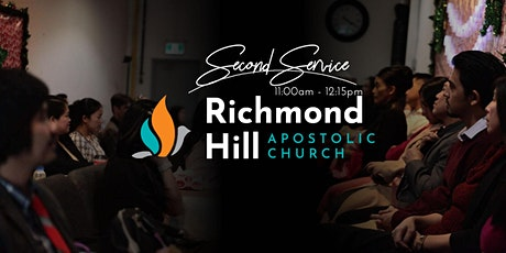 Richmond Hill Apostolic Church • Sunday Worship Second Service • 11:00AM tickets