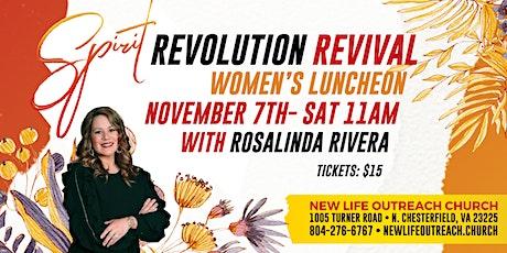 Spirt Revolution Revival Women's Luncheon tickets