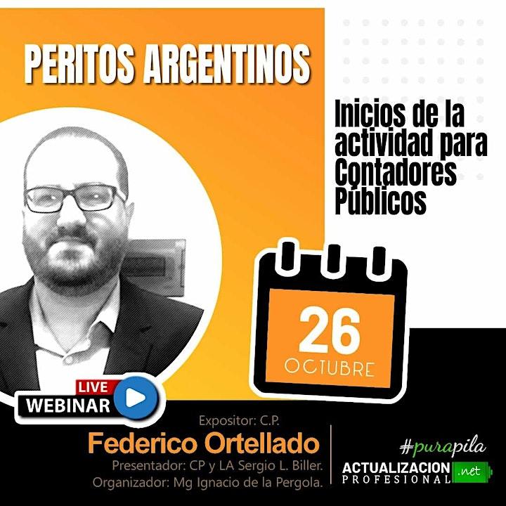 Imagen de /GRABCION PERITOS ARGENTINOS: Inicios de la actividad para CP