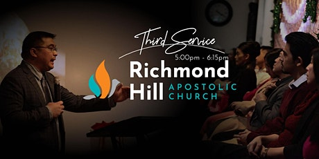 Richmond Hill Apostolic Church • Sunday Worship Third Service • 5:00PM tickets