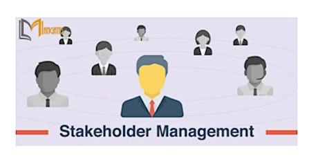 Stakeholder Management 1 Day Training in Kitchener tickets