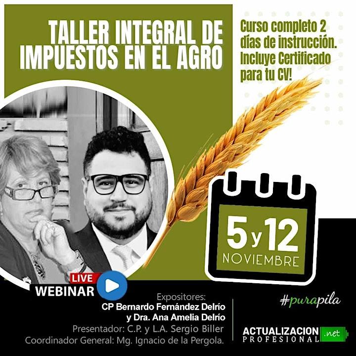 Imagen de /GRABACION - Taller Integral de Impuestos en el Agro