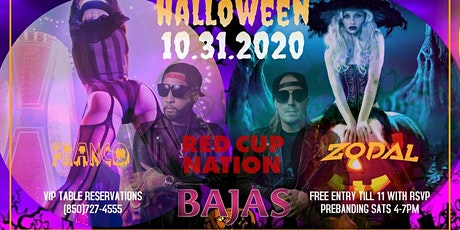 Halloween 10.31.2020 at Bajas - Tally's Official Halloween Bash tickets