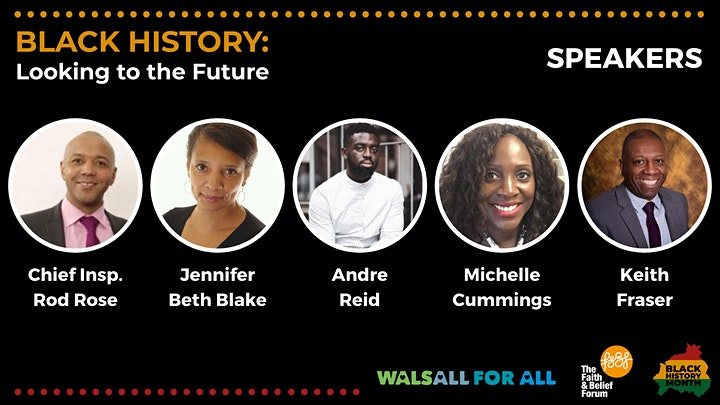 Black History: Looking to the Future Webinar image