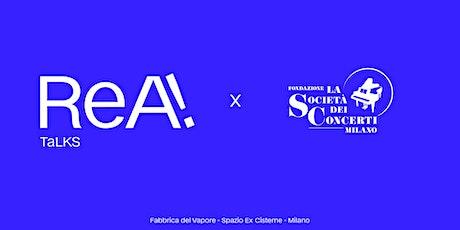 Arte per Colazione I ReA! Art Fair x Fondazione La Società dei Concerti biglietti