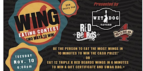 Wing Eating Competition tickets