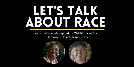 Let's Talk About Race (104) tickets