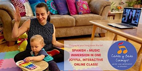 Canta y Baila Conmigo Online FREE demo class tickets