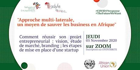 Comment réussir son projet entrepreneurial: vision, étude de marché, etc... billets