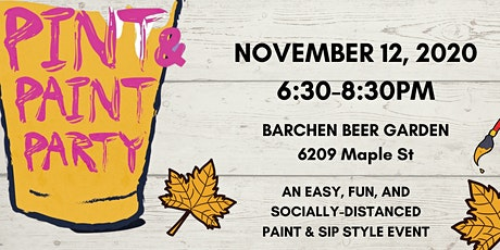 Pint & Paint Night at Barchen tickets
