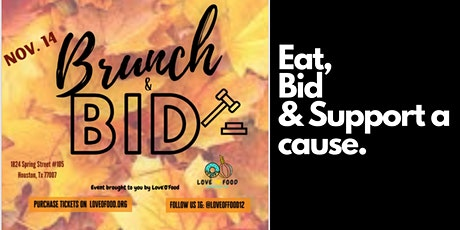 Love'O'Food: Brunch & Bid tickets