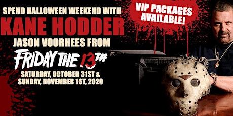 Exclusive VIP Halloween Meet and Greet with Kane Hodder aka Jason Voorhees tickets
