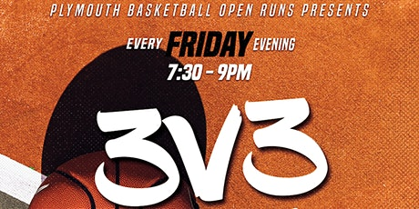 Friday Evening 3v3 Basketball Open Run Session tickets