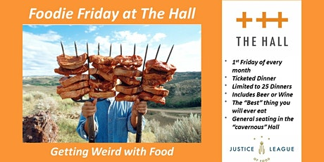 Foodie Friday at The Hall - Pitchforka Porchetta tickets