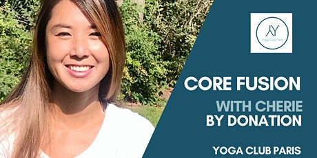 Core Fusion with Cherie - Online -  BY DONATION tickets