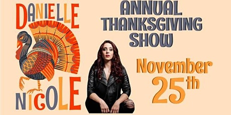 Danielle Nicole's Annual Thanksgiving Eve Show in the Garage (New) tickets