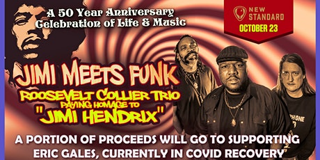 Jimi Meets Funk  with the Roosevelt Collier Trio tickets