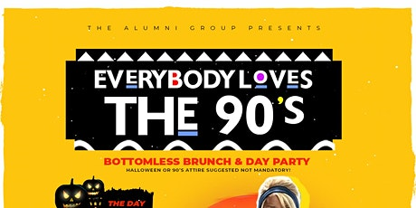 Everybody Loves The 90's Bottomless Brunch & Day Party BK Halloween Edition tickets