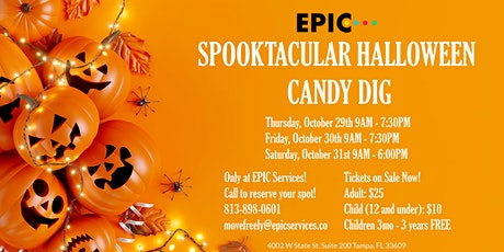 Spooktacular Halloween Candy Dig tickets