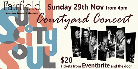 Sun City Soul in the Courtyard tickets