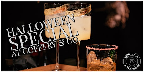 Halloween Special with Nitrogen Coffee Cocktails tickets