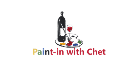 Paint-in with  Chet Virtual Paint Party tickets