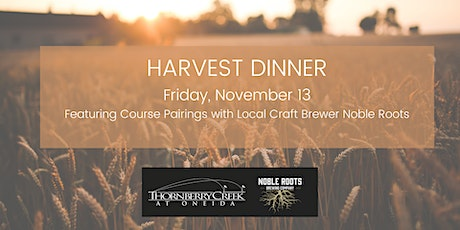 Harvest Dinner with Noble Roots tickets