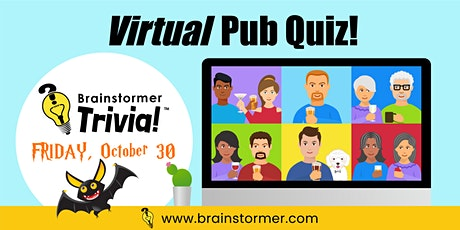 Brainstormer VIRTUAL Pub Quiz, OCTOBER 30, 2020 tickets