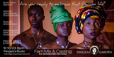 Pangea Mixer and Casting tickets