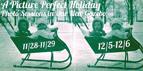 A Picture Perfect Holiday: Gazebo Photo Sessions tickets