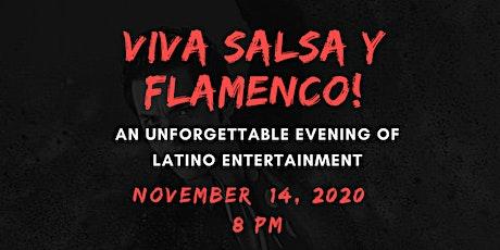 """Flying Chancla Presents Carmela y Más """"VIVA SALSA Y FLAMENCO"""" tickets"""