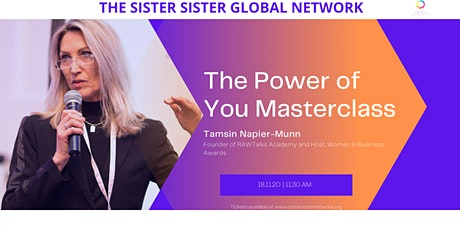 Power of You Masterclass with Tamsin Napier-Munn tickets