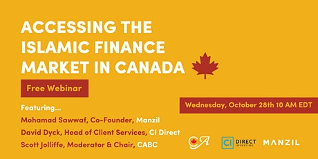 Accessing the Islamic Finance Market in Canada tickets