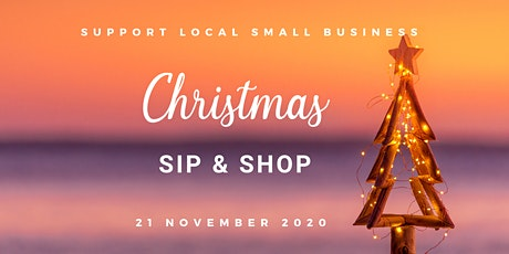 Christmas Sip & Shop tickets
