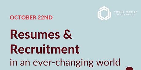 Resumes & Recruitment in an Ever-changing World tickets
