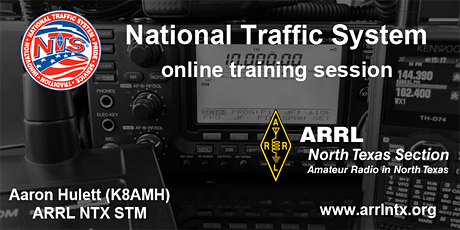 National Traffic System (NTS) Training - November 21, 2020 tickets