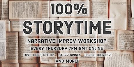 100% Storytime : Narrative Improv Workshop tickets