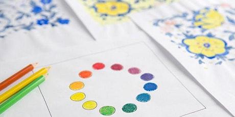 Basics of  Watercolor Painting  - Virtual Art Class tickets