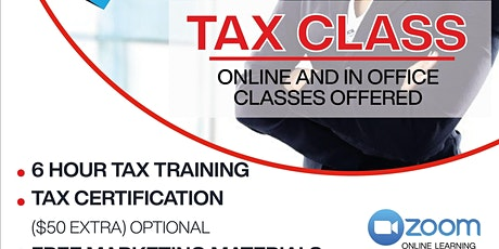 Fast Track Online Tax Course tickets