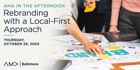 AMA in the Afternoon: Rebranding with a Local-First Approach tickets