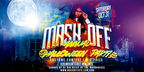 Mask Off Annual Halloween Party tickets