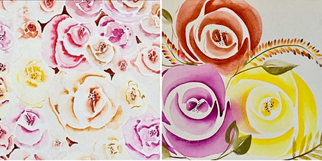 Watercolour Roses Workshop
