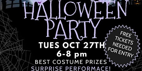 Open House Halloween Party tickets