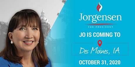 Dinner with Dr. Jo in Des Moines, IA tickets