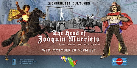 The Head of Joaquin Murrieta (Screening, Presentation, & Conversation) tickets